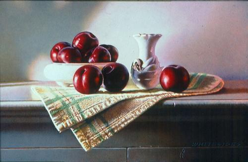 Plums and China Swan